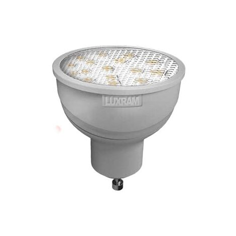 Bombilla Led Smd Gu10 5.5w luz natural - Blanco