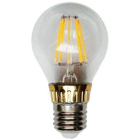 Bombilla LED Standard Regulable Plata E27 (8W)