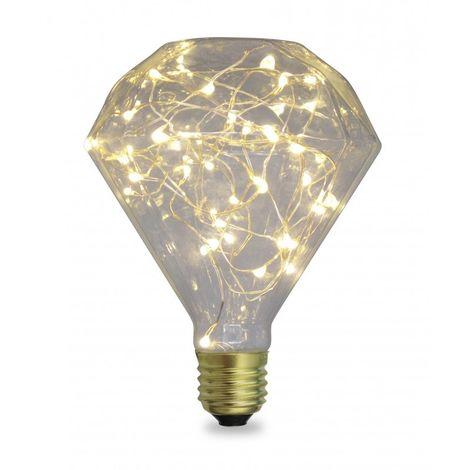 Bombilla LED Starlight Diamond 2W E27 2700K