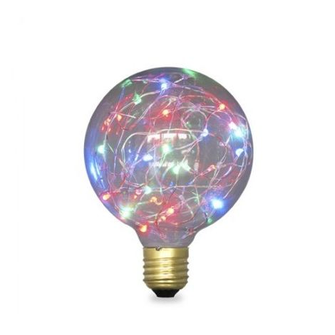 Bombilla LED Starlight Globo G125 2W E27 RGB