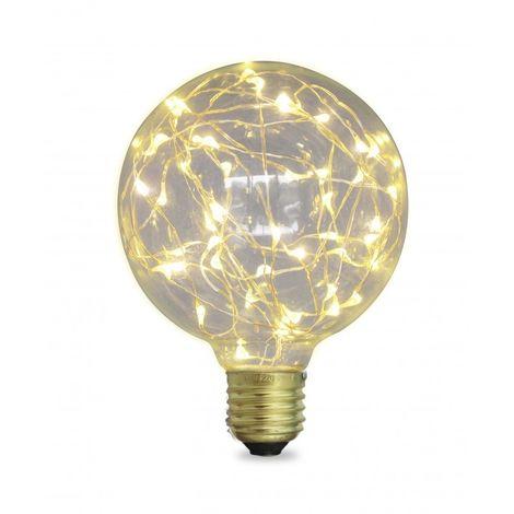 Bombilla LED Starlight Globo G95 2W E27 2700K
