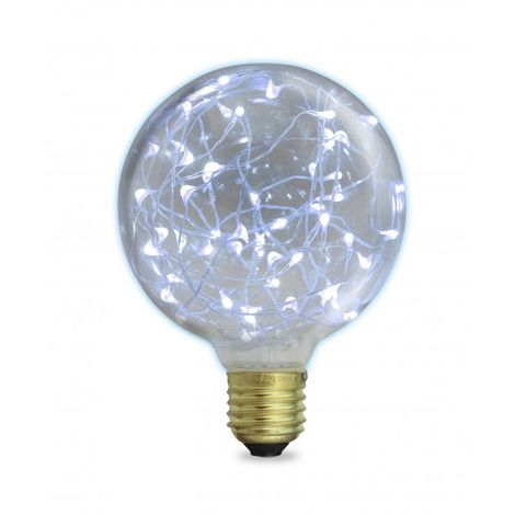 Bombilla LED Starlight Globo G95 2W E27 6000K