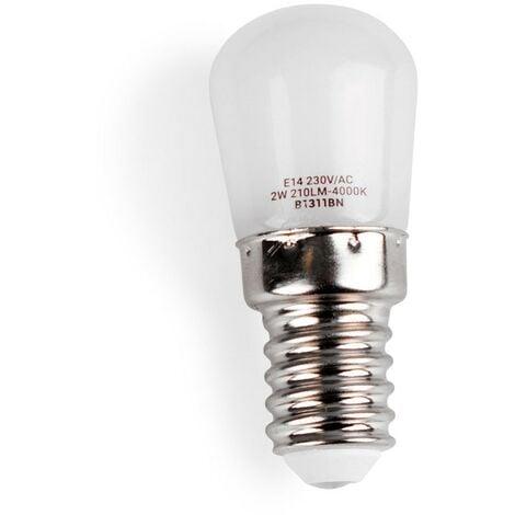 Bombilla LED T10 para neveras E14 2W