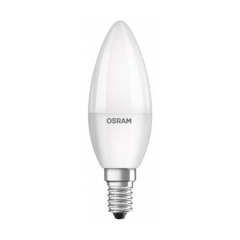 Bombilla Led tipo vela 5W luz neutra 840 E14 Osram