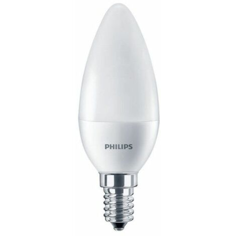 Bombilla Led tipo vela 7W Corepro luz neutra 840 E14 Philips