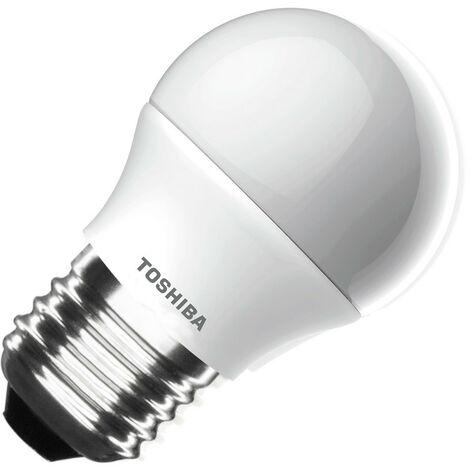 Bombilla LED TOSHIBA E27 Casquillo Gordo G45 4W Blanco Cálido 2700K . - Blanco Cálido 2700K