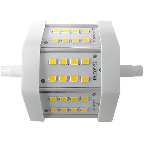 Bombilla LED Tubo R7S 5W Equi.40W 470lm 4000K 25000H 7hSevenOn