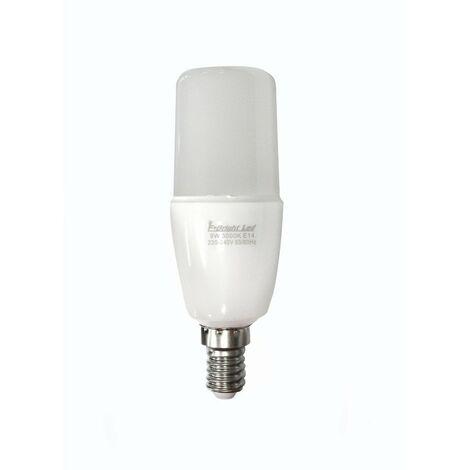 Bombilla LED Tubular E14 (9W)