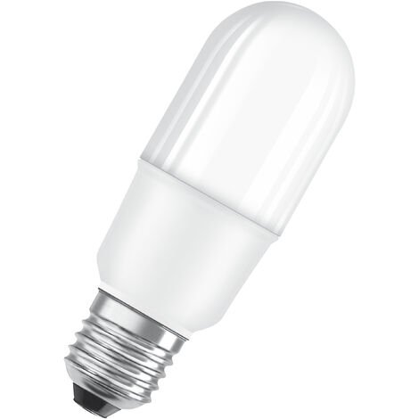 Bombilla LED tubular E27 8W 2700K Luz Neutra OSRAM