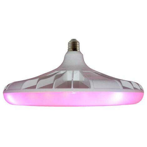 Bombilla LED UFO para crecimiento de plantas, E27, 40W, PLANT GROW 5:1, Crecimiento de plantas