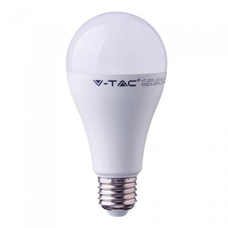 Bombilla LED V-tac Real Color Series A65 E27 17W CRI-95 Temperatura de color - 6400K Blanco frío
