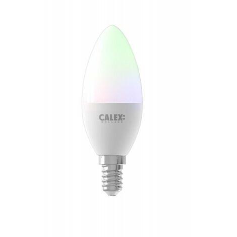 Bombilla led vela 5W inteligente wifi E-14 CALEX Smart Home 429008 RGB-CCT