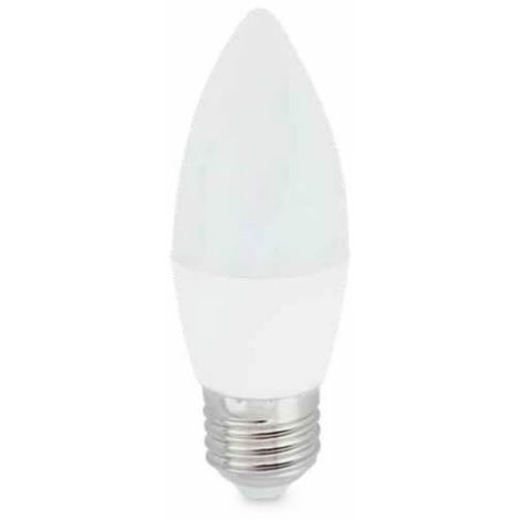 Bombilla LED vela 6W E27 2700K 560lm