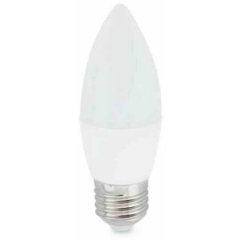 Bombilla LED vela 6W E27 6000K 560lm