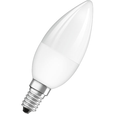 Bombilla LED Vela E14 4.5W RGB Regulable Con Mando OSRAM