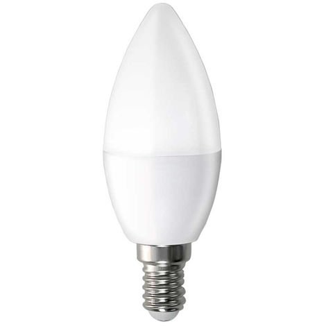 Bombilla LED Vela E14 6W Equi.40W 470lm 15000H 1Primer Low Cost