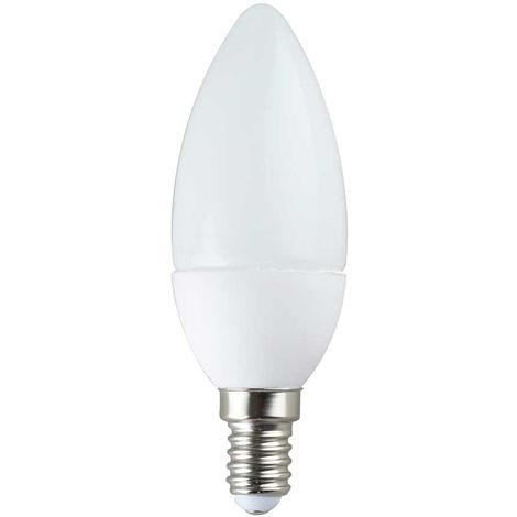 Bombilla LED Vela E14 6W Equi.40W 470lm 15000H 4000K