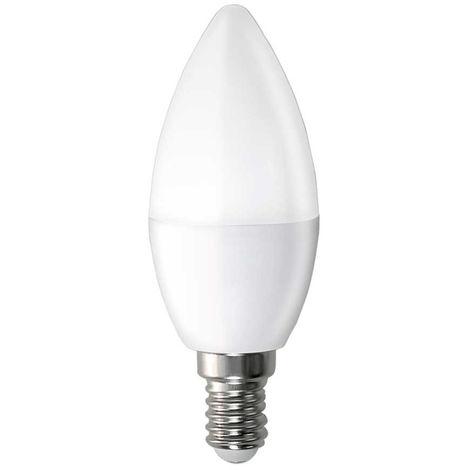 Bombilla LED Vela E14 6W Equi.40W 470lm 15000H Temperatura - 2700K