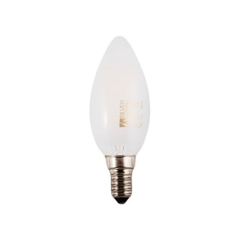 Bombilla LED Filamento VELA E14 3W 5000K OPAL