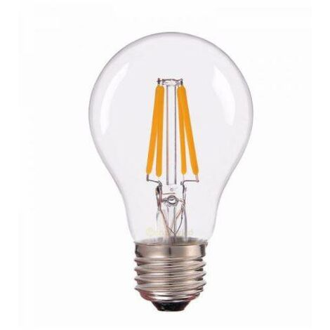 Bombilla led vintage esférica E27 4W luz cálida 3000 k - 0