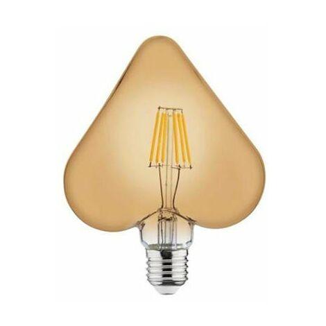 Bombilla LED Vintage Heart E27 6W