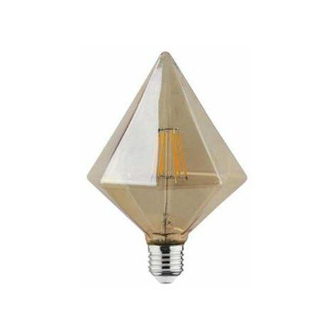 Bombilla LED Vintage Pyramid E27 6W
