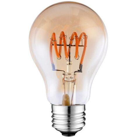 Bombilla LED Vintage Soft Filament espiral A60 E27 4W regulable