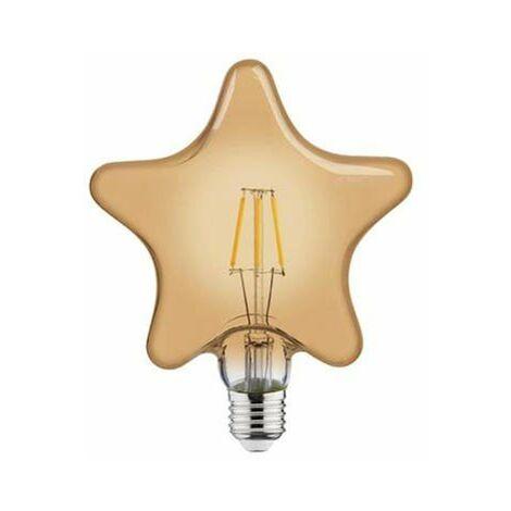 Bombilla LED Vintage Star E27 6W
