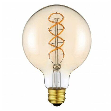 Bombilla LED vintage XXL 4w E27 G125 Bombilla Edison