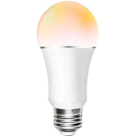Bombilla LED WIFI inteligente, Bombilla LED RGB + C + W, 11W E27
