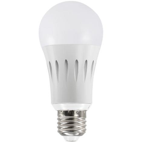 Bombilla LED WIFI inteligente, Bombilla LED RGB multicolor, 9W, E26 / 27