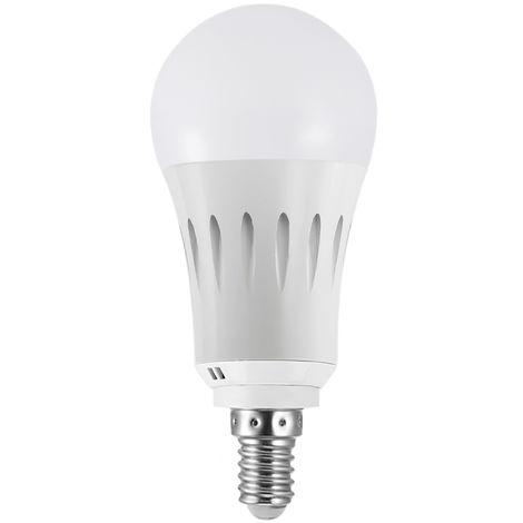 Bombilla LED WIFI inteligente, Bombilla RGB multicolor, 9W, E14