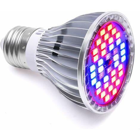 Bombilla LITZEE 30W 40LED Grow Light E27 iluminación para plantas con 7 longitudes de onda AC 85-265V para plantas, flores y verduras interior / invernadero / jardín