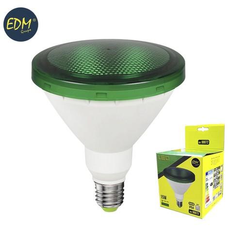 Bombilla Par38 Led 15W 1200 Lumens E27 Ip64 Luz Verde - NEOFERR