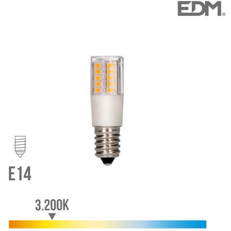 Bombilla pebetero LED E14 5,5w 650 lm 3200k luz calida EDM 98892