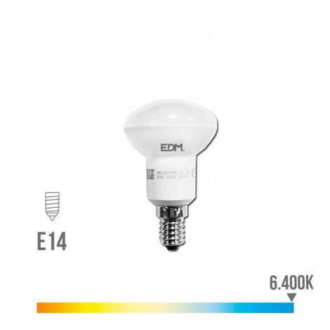 Bombilla reflectora led EDM R50 5W -Disponible en varias versiones