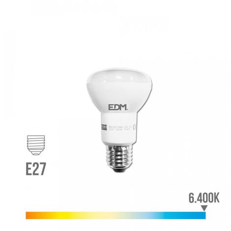Bombilla reflectora led EDM R63 7W -Disponible en varias versiones