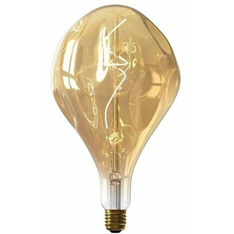 Bombilla regulable decorativa CALEX 426260 Led Organic Evo 6W E-27 Gold