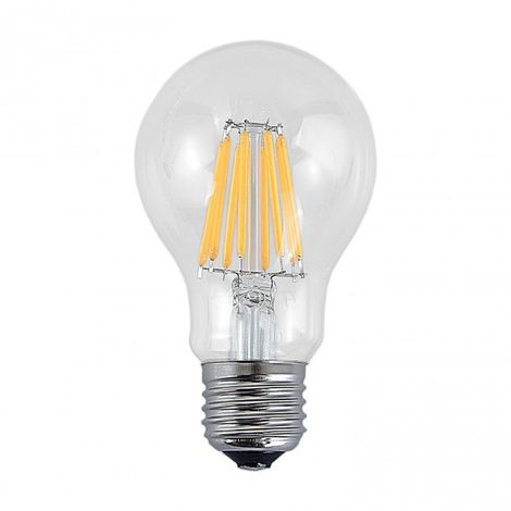 Bombilla regulable decorativa LED E27 8W 2700k