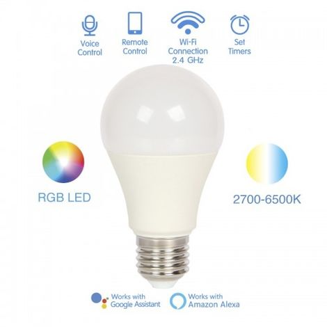 BOMBILLA SMART LED 8W