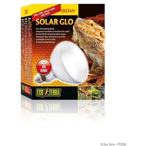 Bombilla Solar Glo Vapor de Mercurio EXO TERRA - 80 W