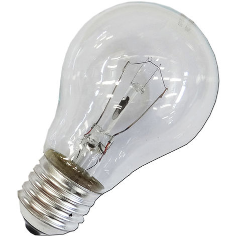 Bombilla standard clara 100w e27 (solo uso industrial)