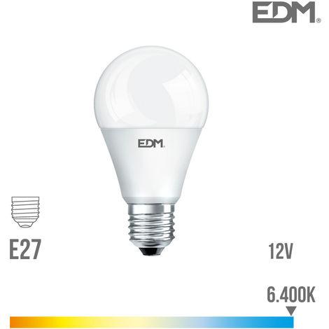 Bombilla Standard Led ''''12V'''' 10W E27 810 Lumens 6.400K Luz Fria - NEOFERR