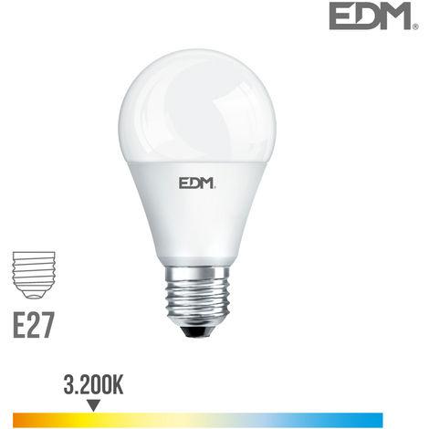 Bombilla standard led e27 10w 810 lm 3200k luz calida edm