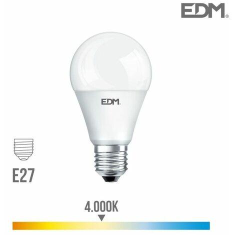 Bombilla standard LED E27 20w 2100 lm 4000k luz día EDM 98712