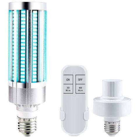 Bombilla UV, luz UV, 60W, 220V, E27, con control remoto