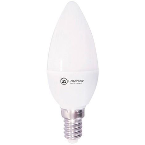 Bombilla vela LED E14 6W 580lm