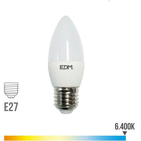 BOMBILLA VELA LED E27 5W 400 LM 6400K LUZ FRIA - NEOFERR