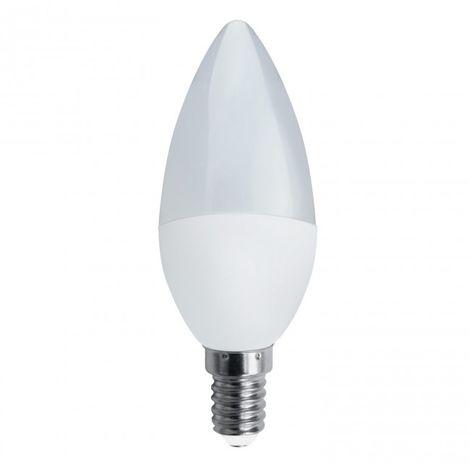 Bombilla Vela LED mate E14 5W 4000K