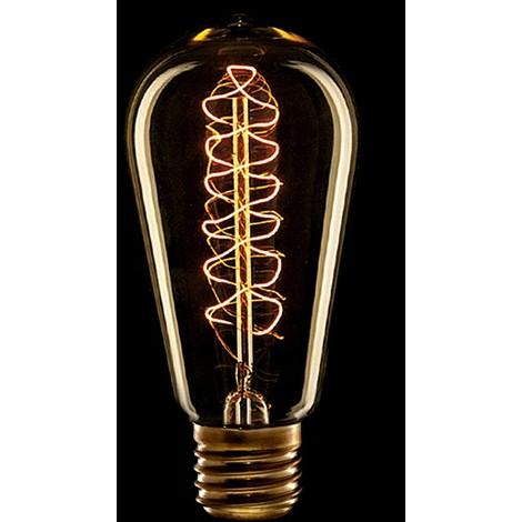 Bombilla Vintage Edison Vortice E27 St58 25W [AM-AV585] | Blanco Cálido (AM-AV585)